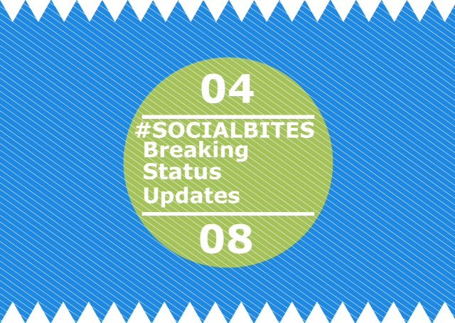 #SOCIALBITES: Breaking Status Updates 04.08.16